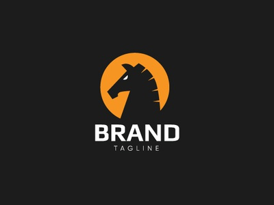 Greek Horse Logo cool company ranch animals greek elegant strong bold masculine sell symbol icon head horse simple identity branding design vector logo