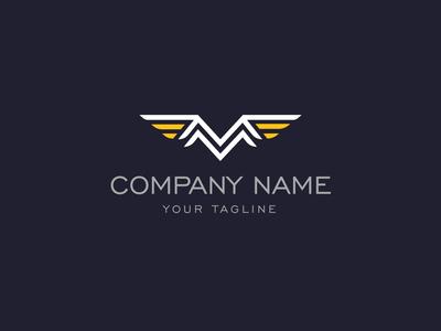 M Wings Logo