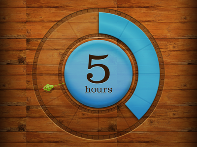 Wooden Timer wood timer time second minute watch timepiece
