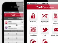 Íslandsbanki - iPhone App