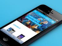 Responsive website for Iceland Telecom