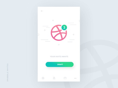 x3 Dribbble Invite to Give Away