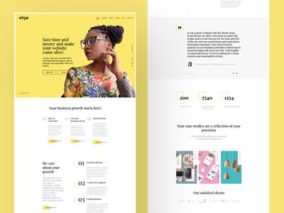 Atos Hubspot Marketing Website Template