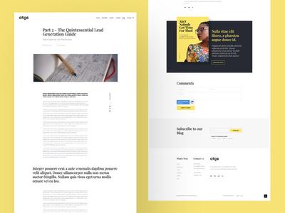 Blog Internal Page blog design blog post blog marketing marketing site hubspot inbound marketing web design ux ui website