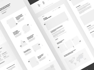Robert Smart Website prototype webdesign web userexperiance growthmindset uiux ux ui inbound marketing webflow website wireframe