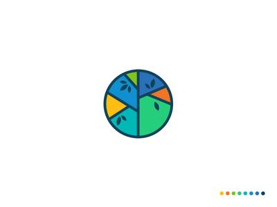 MBC Logo minimal website flat web app icon branding vector logo design illustration