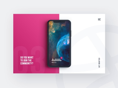 Dribbble Invites to Give Away get drafted community mobile invite invitations give away dribbble invites dribbble design ball app invite app