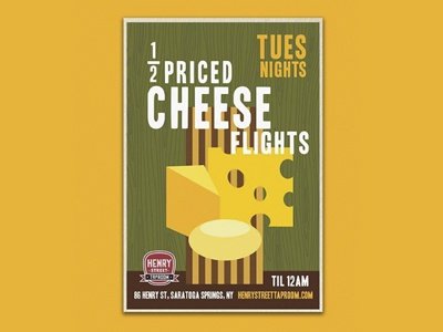 Cheese Flight Poster