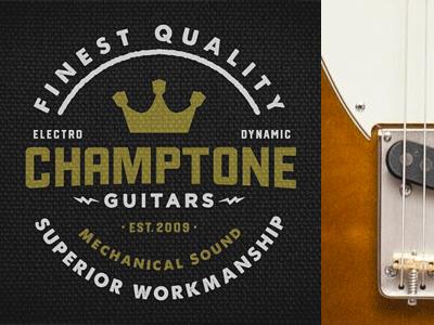 Champtone Guitars 10th Anniversary Seal