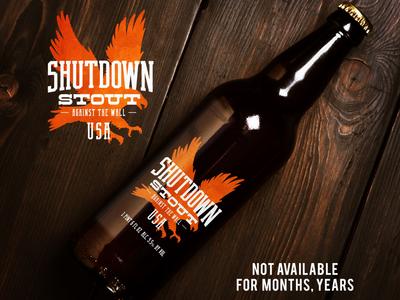 Shutdown Stout craft concept