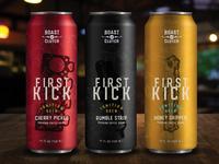 First Kick Cold Brew Design