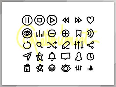 Graveyard Radio - Ghetto Iconset script iconset ghetto