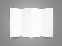 4 Folds Leaflet