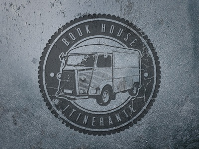 Itinerante logo vintage van citroen h5