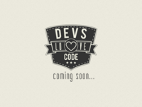 Devs love Code logo