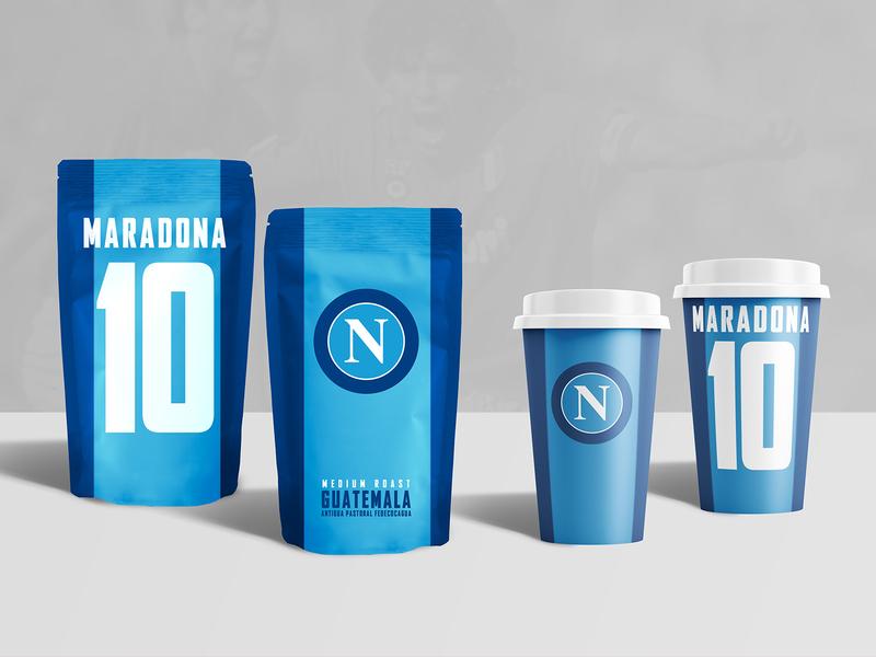 Napoli Coffee soccer design store coffeeshop maradona coffee italy napoli