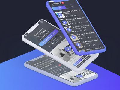 WIP (Website in Progress) — Kreasound card infos card freelance website webdesign mobile-first responsive gradient modern clean music