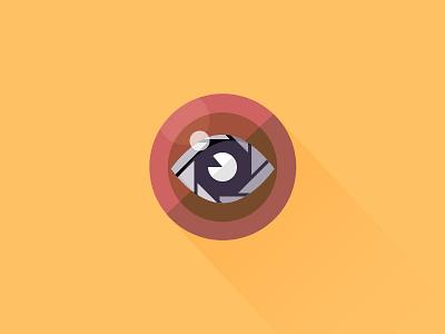 Eyecam camera eye icon lens ux