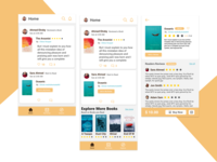 Book Reviewing App Concept