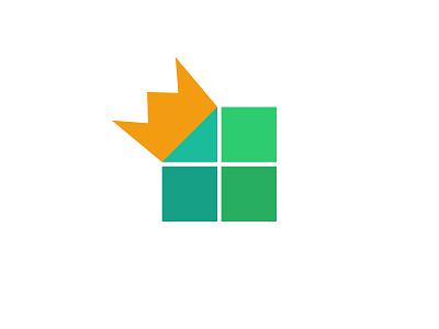logo: picture king logo picture king crown app game design