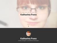 katharinafranz.com v3
