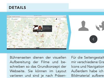 portfolio: detail view portfolio details screens