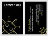 business card: lampensau