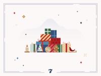 Christmas Calendar 🎁Day 7