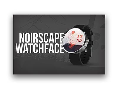NoirScape Watchface gear noir ios applewatch watchface