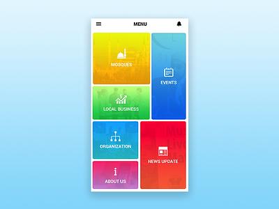 Muslim Link - App Design design communication muslim app