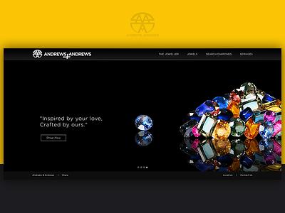 Andrews & Andrews Jewellers - Web Design jewellers design website