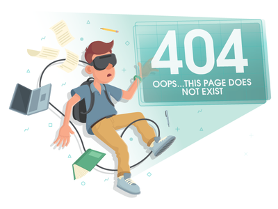 404 Page error page augmented reality 404 page iot education ar