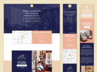 N&K Salon Conversion Design Focused Landing Page