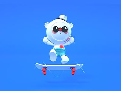 BOBOO bear mascot