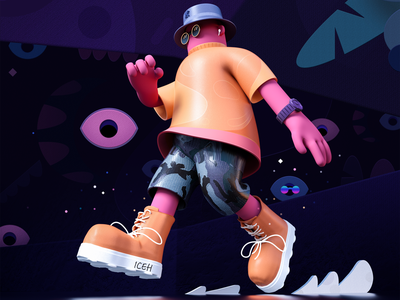 Voyage Of Discovery man c4d
