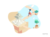 Monument Valley -Meet with the ancient city05