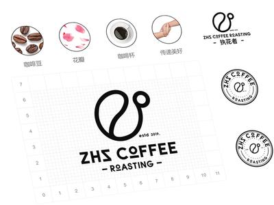 ZHZ coffee logo