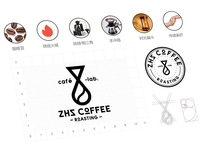 ZHZ coffee logo