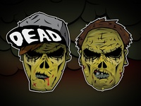 The Living Dead characters