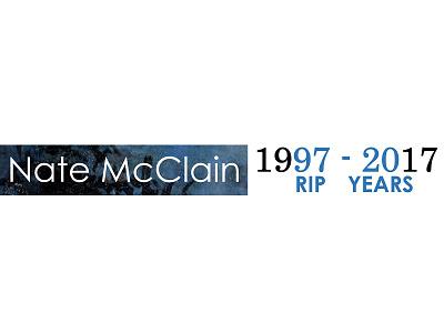 Logo:  20th Anniversary of Artist Death artist rest in peace rip twenty anniversary 20 years logo