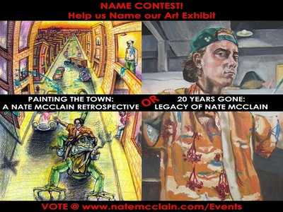 Help Name an Art Exhibit art show name options voting vote poll naming contest contest alert contest
