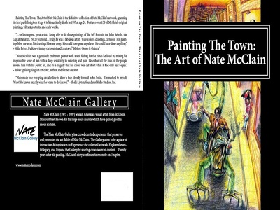 Book Cover Design st louis illustration painting artist art complete works cover book