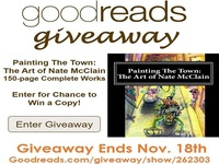 GoodReads Giveaway Art Book