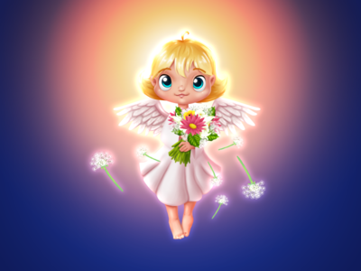 Angel of Peace - Gift for Ok.ru