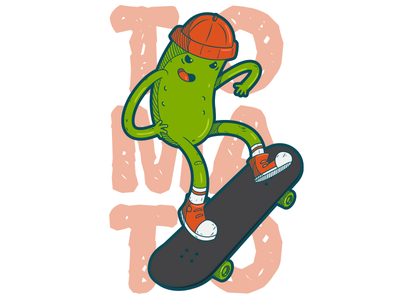 Tomato character for STATE OF SKATE