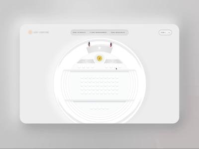 Virtual Courtroom ui law courtroom platform experience design product design web ux design