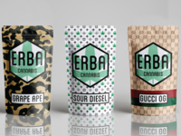 Erba Cannabis Packaging Bags