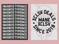 Favorite Typeface