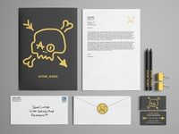 After_Ours Stationery Mockup