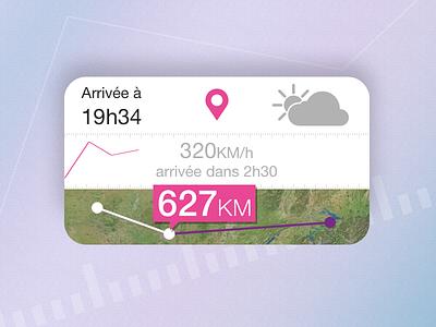 Train Stats app widget stats speed ios app app ui ux